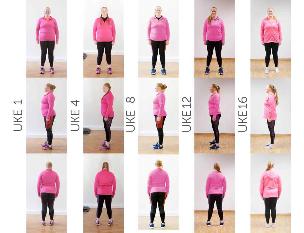 24 kg ned på 16 uker…!