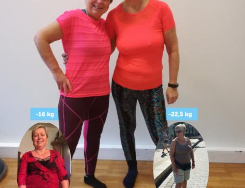 Elin og Liv fra Nr1 fitness Fyllingsdalen