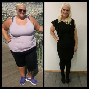 Cecilie før og etter