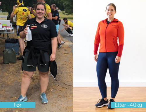 Maren har blitt sterkere fysisk og mentalt i tillegg til å gå ned 40 kg.