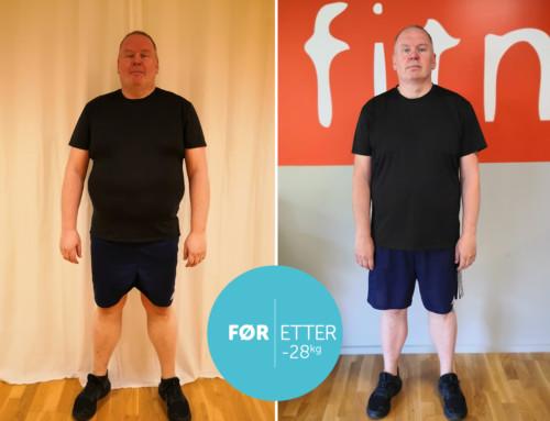 Ludvik har gått ned 28 kg, har fått bedre psyke og er kvitt kramer i musklene.
